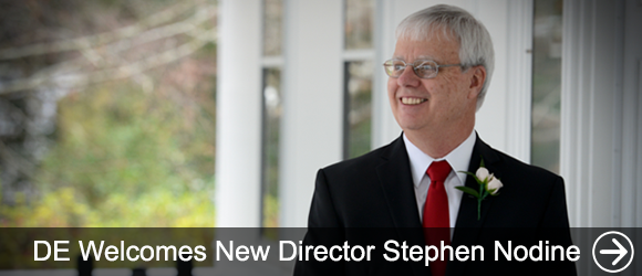link to DE welcomes new director stephen nodine news article