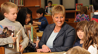 Kathy Bruce, principal at Bonnie Brae Elementary School and EDLE alumna