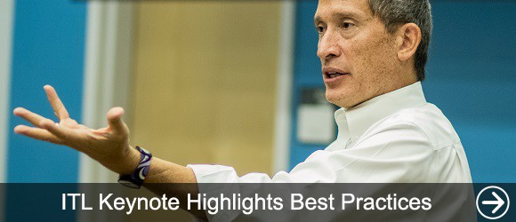 link to ITL Keynote Highlights Best Practices news article