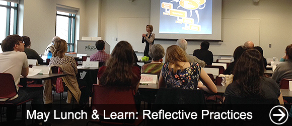 link to May Lunch & Learn: Reflective Practices news article
