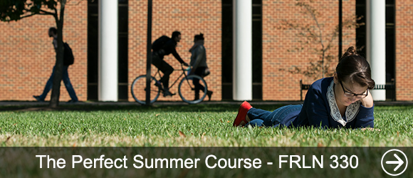 link to The Perfect Summer Course – FRLN 330 news article