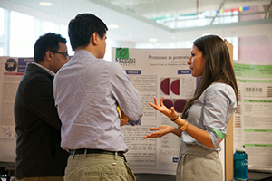systems biology students present research projects