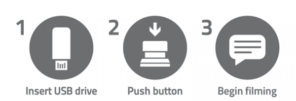 one button instructions