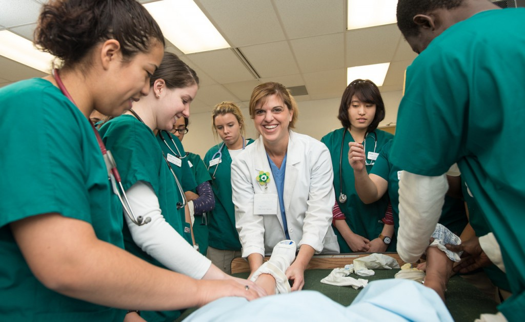 For 2015, Mason's online RN-to-BSN program is ranked as one of the best in the nation for registered nurses with two-year degrees seeking four-year degrees in nursing. Photo courtesy of Mason Creative Services.